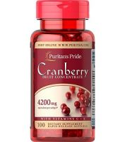 Puritan's Pride Cranberry Fruit Concentrate with C & E Review - For Urinary Tract Infections