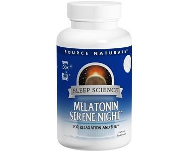 Source Naturals Sleep Science Melatonin Serene Night Review