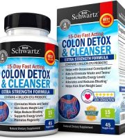 Bio Schwartz Colon Detox and Cleanser Review - For Flushing And Detoxing The Colon