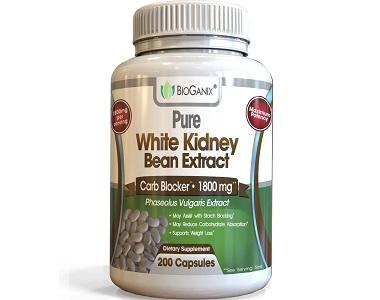 Bioganix Pure White Kidney Bean Extract Weight Loss Supplement Review