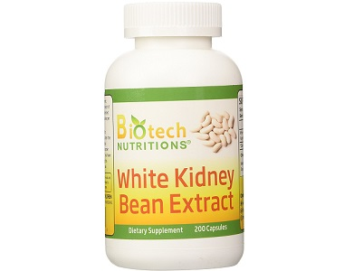 Biotech Nutritions White Kidney Bean Extract Weight Loss Supplement Review