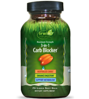 Irwin Naturals Maximum Strength 3-in-1 Carb Blocker Weight Loss Supplement Review