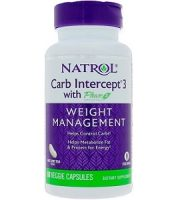 Natrol Carb Intercept 3 Weight Loss Supplement Review