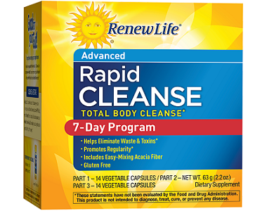 Renew Life Rapid Cleanse Review - For Flushing And Detoxing The Colon