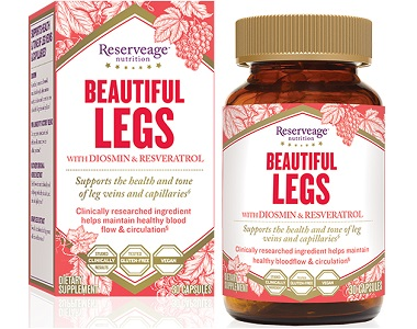 Reserveage Nutrition Beautiful Legs Review - For Reducing The Appearance Of Varicose Veins
