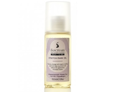 Sanctuary Mum-To-Be Stretch Mark Oil Review - For Reducing The Appearance Of Stretch Marks