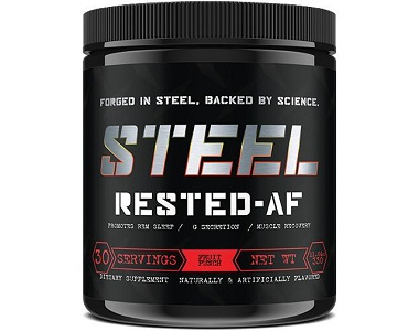 Steel Rested AF Review - For Restlessness and Insomnia