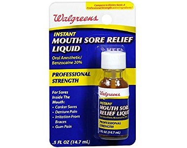 Walgreens Instant Mouth Sore Relief Review - For Relief From Mouth Ulcers And Canker Sores