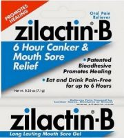 Zilactin-B Long Lasting Mouth Sore Gel Review - For Relief From Mouth Ulcers And Canker Sores