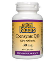 Natural Factors Coenzyme Q10 Review - For Cognitive And Cardiovascular Support