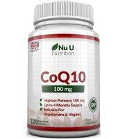 Nu U Nutrition CoQ10 Review- For Cognitive And Cardiovascular Support