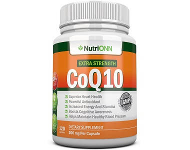 NutriONN CoQ10 Review - For Cognitive And Cardiovascular Support