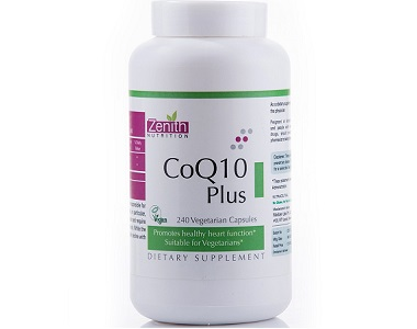 Zenith Nutrition Coenzyme Q10 Plus Review - For Cognitive And Cardiovascular Support