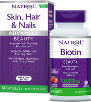 Natrol Biotin Fast Dissolve Review - For Hair Loss, Brittle Nails and Problematic Skin