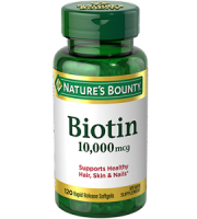 Nature's Bounty Biotin Review - For Hair Loss, Brittle Nails and Problematic Skin