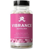 Vibrance Healthy Hair Vitamins Review - For Dull And Thinning Hair