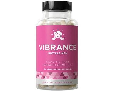 Vibrance Healthy Hair Vitamins Review