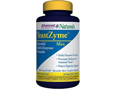 Advanced Naturals YeastZyme Review Max for Yeast Infection