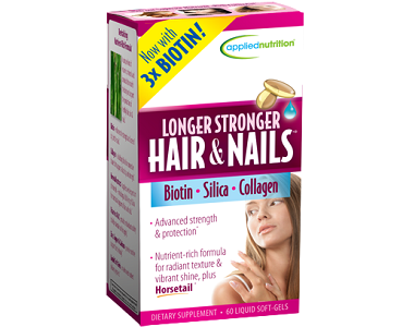 Applied Nutrition Longer Stronger Hair and Nails Review - For Dull And Thinning Hair