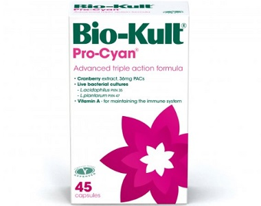 Bio-Kult Pro-Cyan Review - For Relief From Urinary Tract Infections