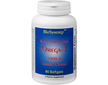 Biosynergy Omega-3 Fish Oil Review - For Cognitive And Cardiovascular Support