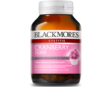 Blackmores Cranberry 15000 Review - For Relief From Urinary Tract Infections