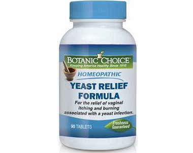 Botanic Choice Yeast Relief Formula for Yeast Infection