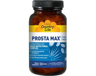 Country Life Prosta Max Review - For Increased Prostate Support