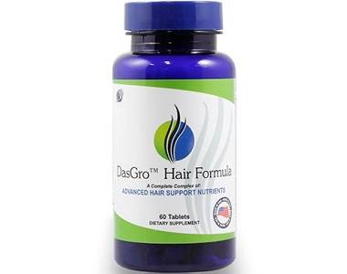 DasGro Hair Formula Review - For Dull And Thinning Hair