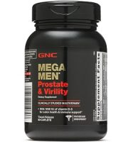 GNC Mega Men Prostate & Virility Review - For Increased Prostate Support