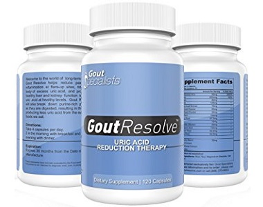 Gout Specialists Gout Resolve Review - For Relief From Gout