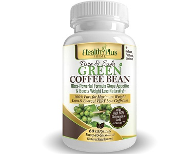 Health Plus Prime Green Coffee Bean Extract for Weight Loss