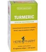 Herb Pharm Turmeric Softgels Review