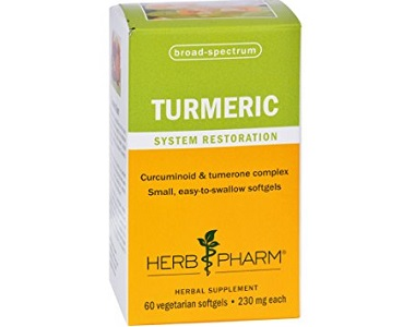 Herb Pharm Turmeric Softgels Review - For Improved Overall Health