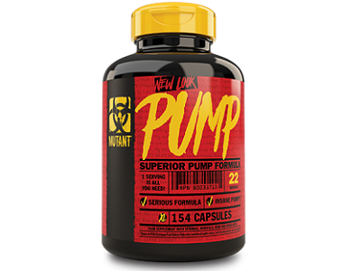 Mutant Insane Pump Supplement for Nitric Oxide