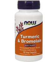 NOW Turmeric & Bromelain Review