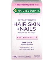 Nature Bounty Extra Strength Hair Skin and Nails Review