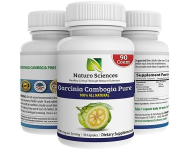 Naturo Sciences Garcinia Cambogia Pure Weight Loss Supplement Review