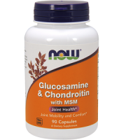 Now Glucosamine & Chondroitin with MSM Review - For Relief From Gout