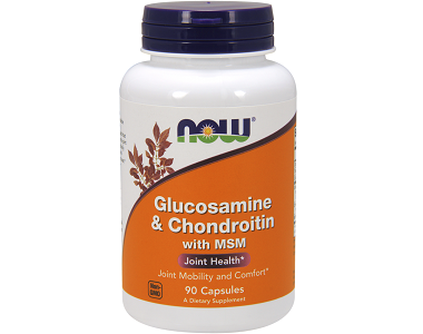 Now Glucosamine & Chondroitin with MSM Review
