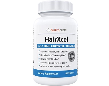 NutraCraft HairXcel Review - For Dull And Thinning Hair