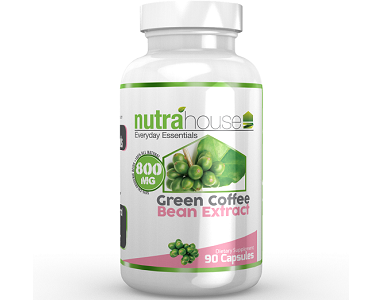 NutraHouse Green Coffee Bean Extract Weight Loss Supplement Review