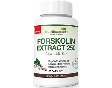 Nutrition Made Forskolin Extract Weight Loss Supplement Review