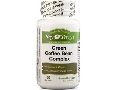 Ray and Terry's Green Coffee Complex Weight Loss Supplement Review
