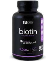 Sport Research Biotin Review - For Hair Loss, Brittle Nails and Problematic Skin