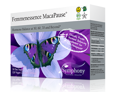 Symphony Natural Health Femmenessence MacaPause Review - For Relief From Menopause
