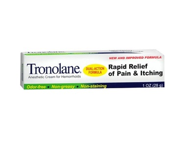 Tronolane Anesthetic Cream for Hemorrhoids Review - For Relief From Hemorrhoids