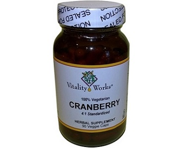 Vitality Works Cranberry for Urinary Tract Infection