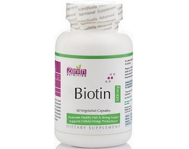 Zenith Nutrition Biotin Review - For Hair Loss, Brittle Nails and Problematic Skin