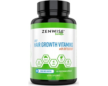 Zenwise Health Hair Growth Review - For Dull And Thinning Hair